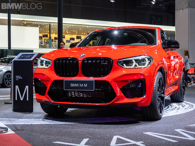 LIVE PHOTOS: BMW X4 M Competition shows of its curves in Shanghai