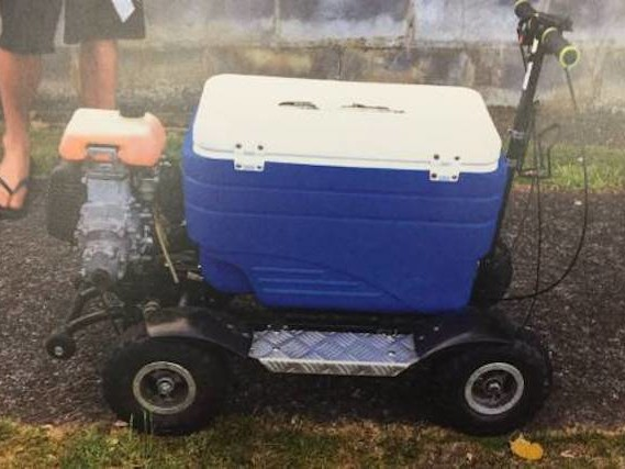 New Zealand man fined after riding drunk on a motorised cool box