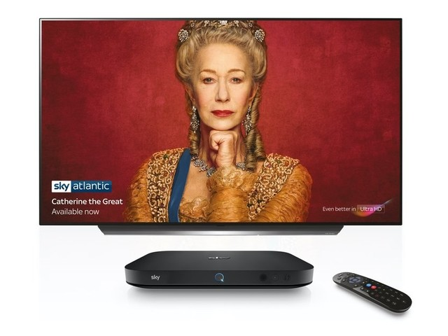 Sky UK has launched a cheaper Ultra HD-capable Sky Q box