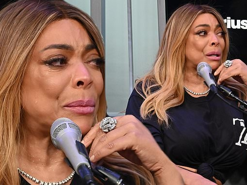 Wendy Williams fights back tears when asked about her ex-husband Kevin Hunter in emotional interview