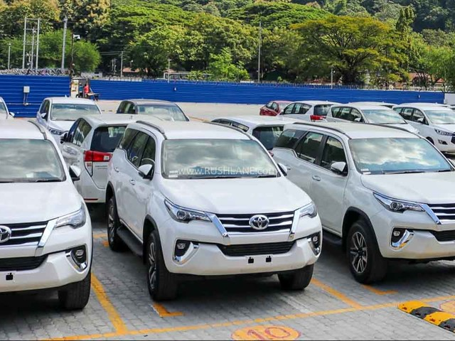 Toyota Regional Stockyard Launched – Innova, Fortuner Delivery Time Reduced