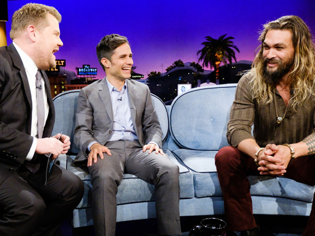 Jason Momoa Gushes About Lisa Bonet on 'Late Late Show': 'I'm A Full-Fledged Stalker'