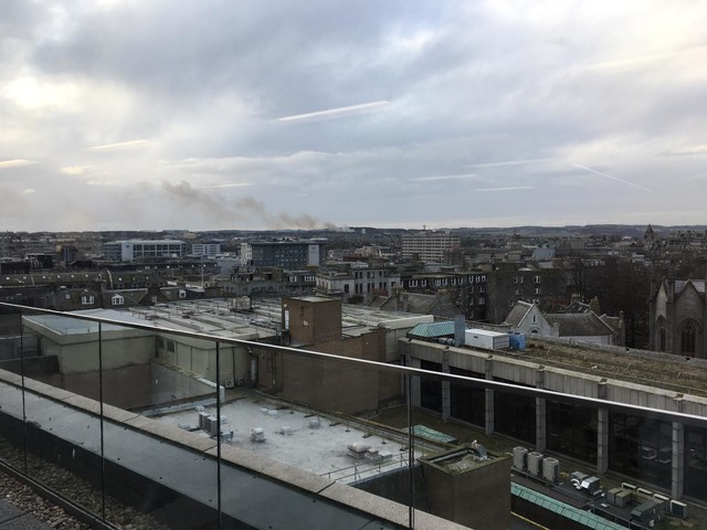 Fire crews called to blaze at the Gramps