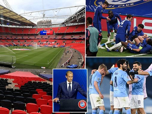UEFA 'set to hold talks with the UK Government TOMORROW about moving Champions League final