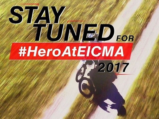 Hero MotoCorp Teases New Off-Road Motorcycle; Debut At EICMA 2017