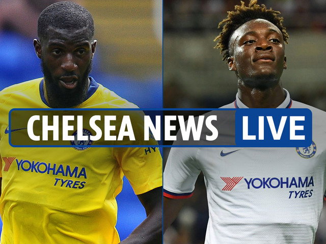 8.30am Chelsea news LIVE: Abraham alleged racist abuse, Bakayoko to Monaco, Lampard unhappy over Liverpool's extra days off