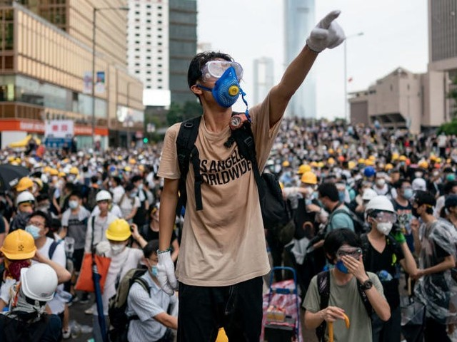 Google said it wasn't responding to a request by the Chinese government or police when it pulled a game about the Hong Kong protests from its app store (GOOG, GOOGL)