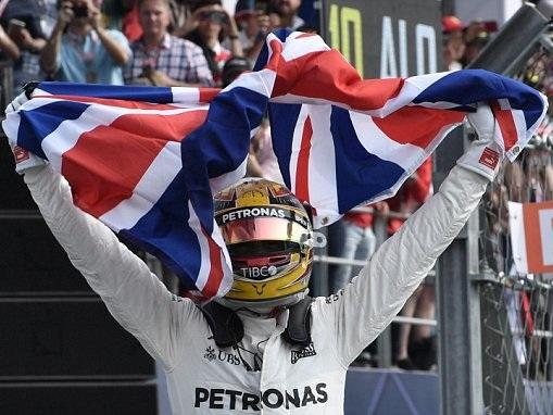 Lewis Hamilton wins fourth F1 world title