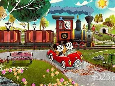 Mickey and Minnie's Runaway Railway Is Coming To Disneyland Resort!