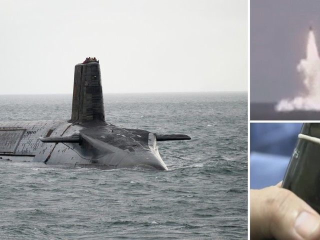 Here's what it would look like if Britain launched an attack with nuclear weapons