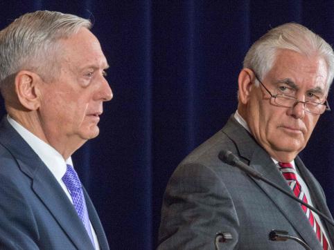 Tillerson urges China to put more pressure on N. Korea