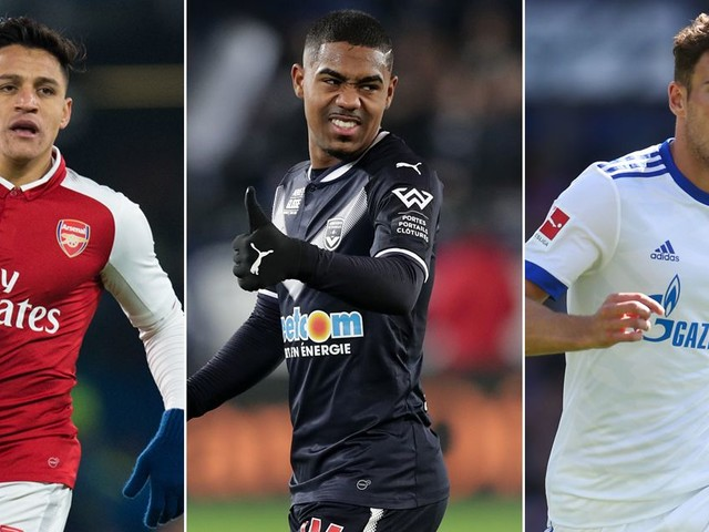 Transfer news LIVE: Manchester United, City, Arsenal, Liverpool and Chelsea latest from the January window