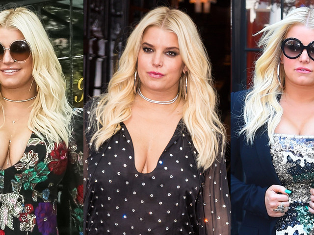 Jessica Simpson Continues Her Style Streak in NYC