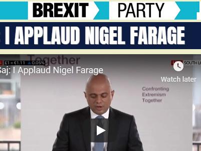 Saj: I Applaud Nigel Farage