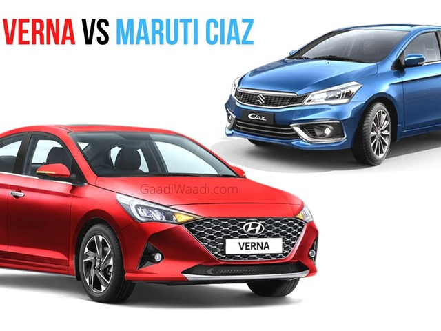 2020 Hyundai Verna Gets 27 Features That Aren't Available On Maruti Ciaz