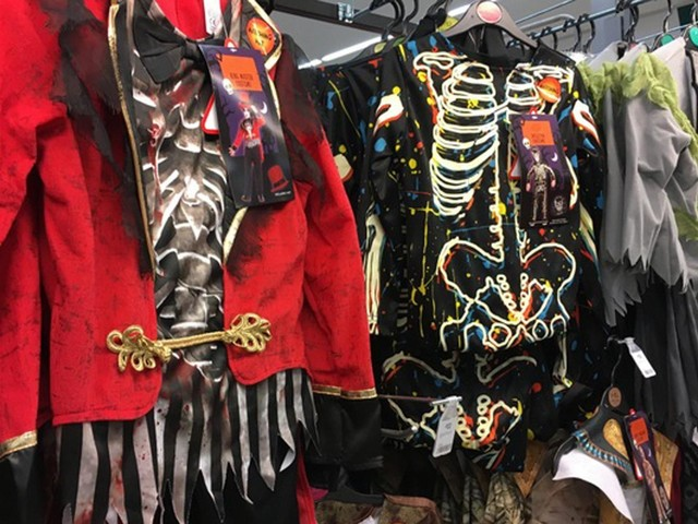 Halloween costumes sold this year will contain 2,000 tonnes of plastic waste, study shows