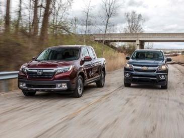 Lightweight Middlemen: Chevrolet Colorado vs. Honda Ridgeline!