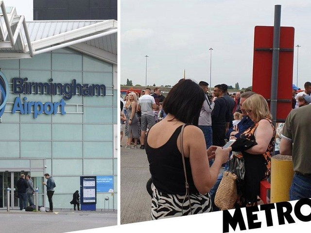 Thousands of passengers evacuated from Birmingham Airport after fire alarm