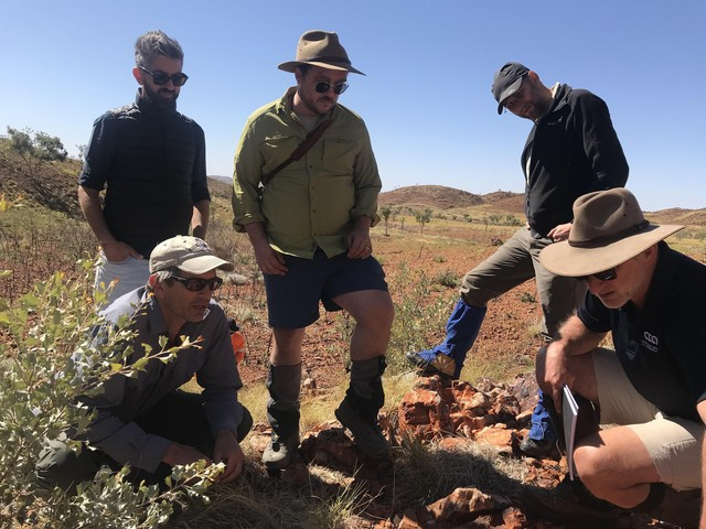 Scientists explore outback as testbed for Mars
