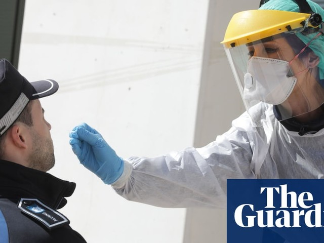 'They can cost £63k': how the hazmat suit came to represent disease, danger – and hope