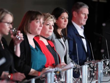 Labour rivals spar over anti-Semitism after plea for unity at first hustings