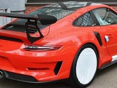 Is This a Lava Orange 2019 Porsche 911 GT3 RS?