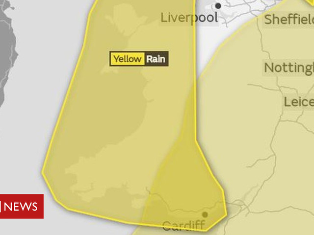 Warnings issued as rain and wind set for parts of Wales