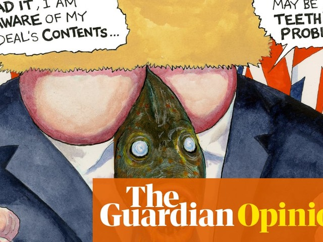 Steve Bell on teething problems for fisheries post-Brexit – cartoon