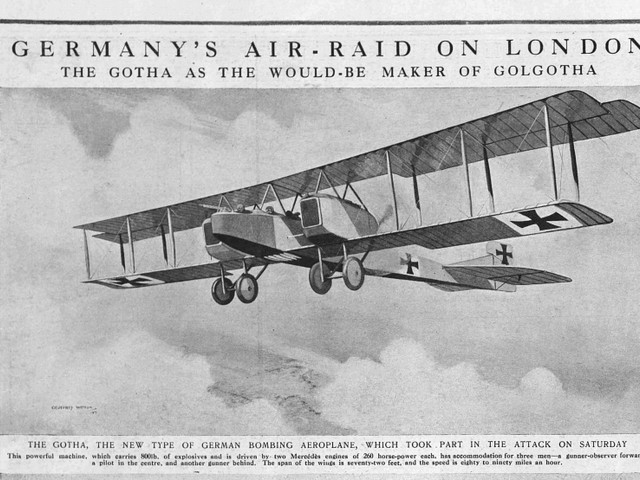London Was Being Bombed From Above 100 Years Ago... As These Newspaper Articles Show