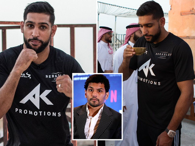 Amir Khan took Neeraj Goyat fight at short notice to 'erase' nightmare Crawford KO
