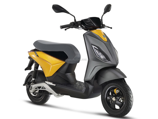 Piaggio Electric Scooter First Photos Revealed Ahead Of Global Debut