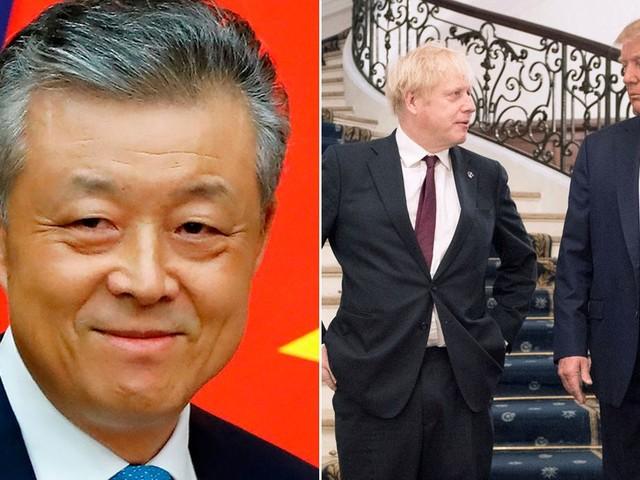 Chinese Ambassador accuses UK of being 'junior partner' of Trump over Huawei
