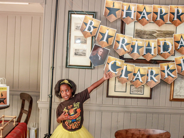 8-Year-Old Didn't Throw Away Her Shot To Have A 'Hamilton' Birthday Party
