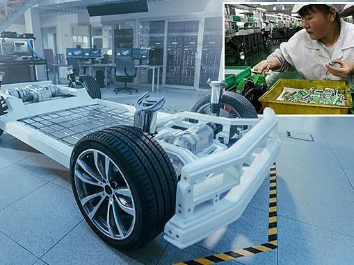China has stronghold on the lithium-ion battery supply chain as EV demand soars