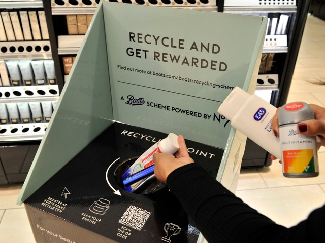 How to get £2.50 worth of Boots Advantage Card points for FREE by recycling old make-up
