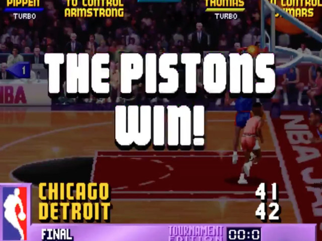 The creator of 'NBA Jam' admits that the Pistons are a cheat
