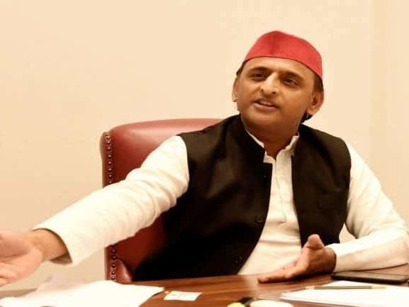 Bad days have come for UP CM Yogi Adityanath as he#39;s wandering door-to-door to retain post: Akhilesh Yadav