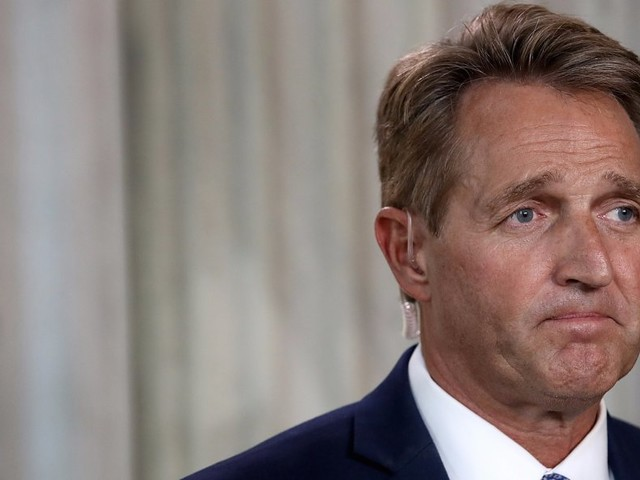 Everyone is asking Jeff Flake if he's going to run for president — and he isn't saying no
