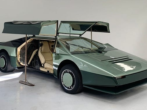 40 years ago, Aston Martin gave up plans to build the world's fastest car. Now the car's ready to try again.