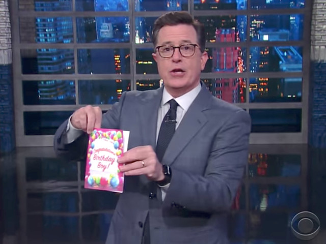 Best of Late Night: Late Night Wishes President Trump a Happy Birthday