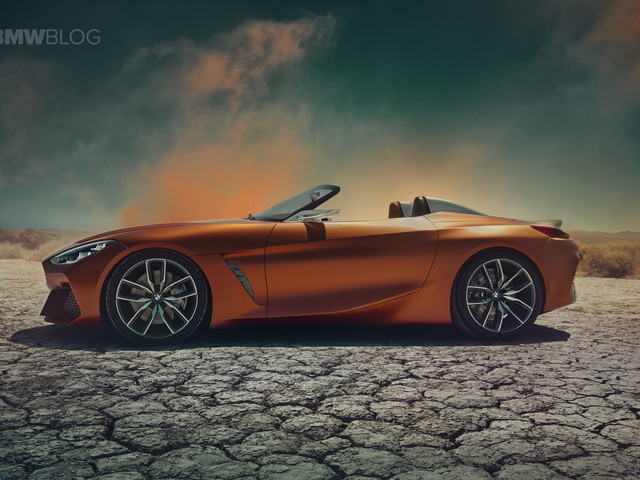 BMW Z4 Concept – First Video