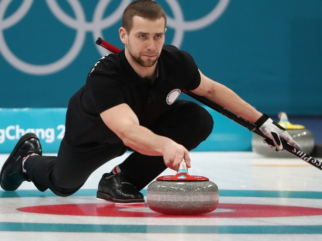 Russian 'caught doping' in CURLING at Winter Olympics and 'blames disgruntled rival who wanted his place on team'