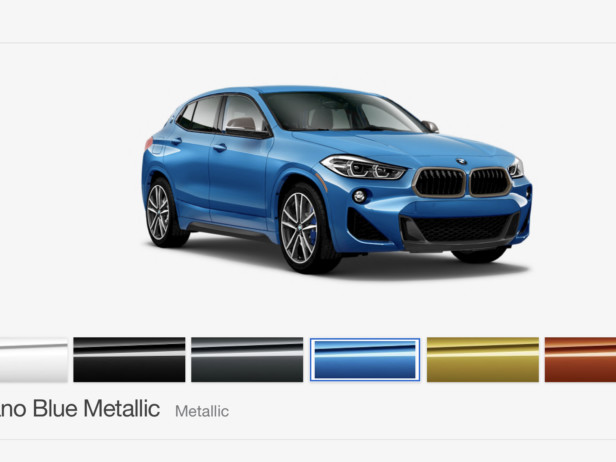You can now configure your BMW X2 M35i, pricing starts at $46,450