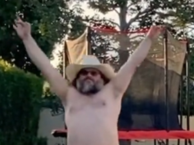Jack Black Does Shirtless Dance in Hilarious First TikTok Video - Watch!