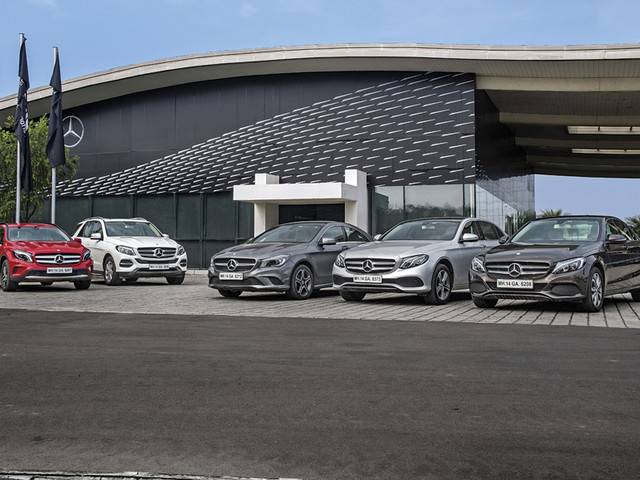 A look back on 25 years of Mercedes in India
