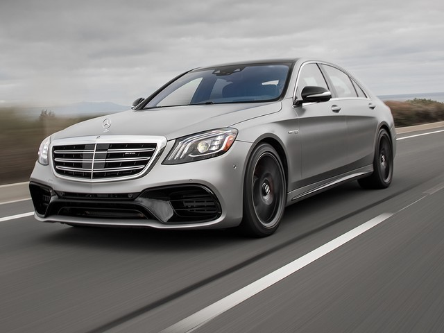 2018 Mercedes-AMG S63 First Test: Burning Rubber in Style