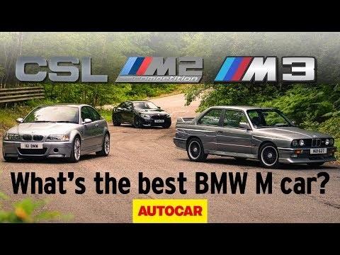 Autocar Heroes: BMW E30 M3 vs M3 CSL vs M2 Competition - what's the best M Car ever?