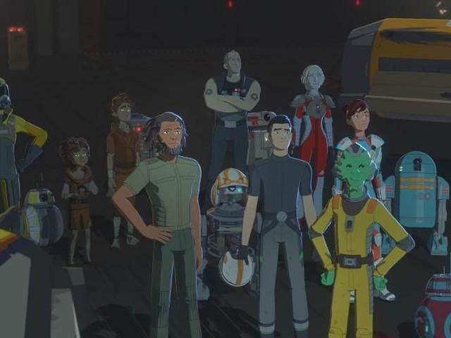 Star Wars Resistance Season 2 Trailer Has 100% More Kylo Ren