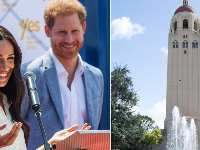 Meghan Markle and Prince Harry reportedly paid a secret visit to Stanford University