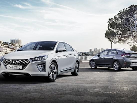 2019 Hyundai Ioniq Hybrid and Plug-In Hybrid Updated